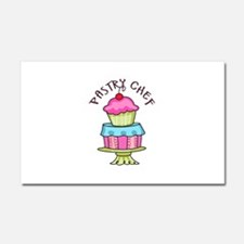 Pastry Chef Car Magnet 20 x 12