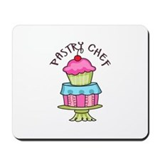 Pastry Chef Mousepad