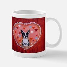 Boston Terrier Valentine Mugs