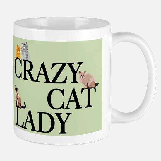 Cat Crazy Mug Mugs