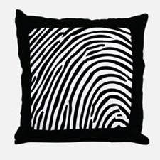 Simple Fingerprint Throw Pillow