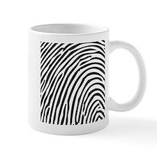 Simple Fingerprint Mugs