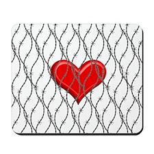 Captured Heart Mousepad