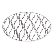Bloody Barbed Wire Decal