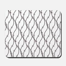 Bloody Barbed Wire Mousepad