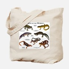 Newts of the World Tote Bag