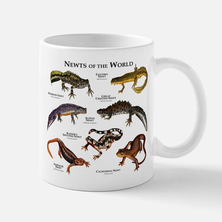 Newts of the World Mug
