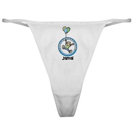 Jamal: Happy B-day to me Classic Thong