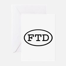 FTD Oval Greeting Cards (Pk of 10)