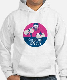 Rugby Player Fending England 2015 Circle Hoodie