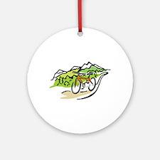 MOUNTAIN BIKE Ornament (Round)