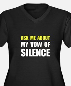 Vow Of Silence Plus Size T-Shirt