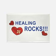 Healing Rocks!!! Rectangle Magnet