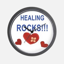 Healing Rocks!!! Wall Clock