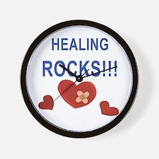 Healing Rocks!!! Wall Clock