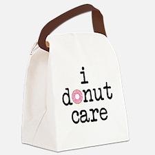 Unique Donuts Canvas Lunch Bag