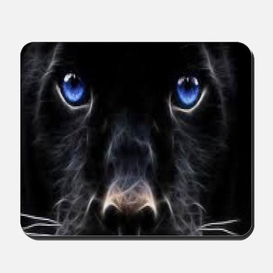 Black panther Mousepad