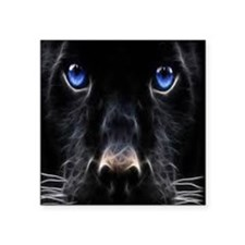"Black panther Square Sticker 3"" x 3"""