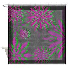 Floral Motif 1 ~ Shower Curtain