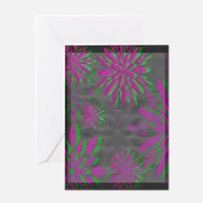 Floral Motif 1 ~ Greeting Cards