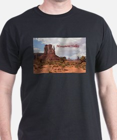 Monument Valley, Utah, USA 2 (caption) T-Shirt