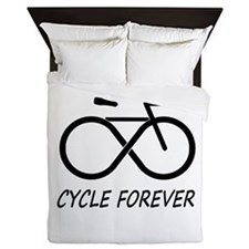 Cycle Forever Queen Duvet