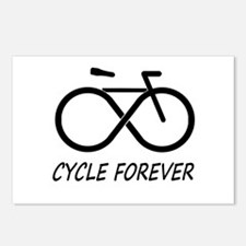 Cycle Forever Postcards (Package of 8)