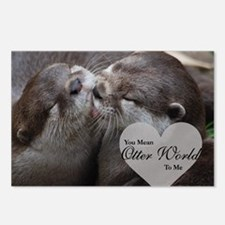 You Mean Otter World To M Postcards (Package of 8)