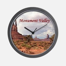 Monument Valley, Utah, USA 2 (caption) Wall Clock