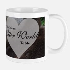 You Mean Otter World To Me Otters Kissing Mugs
