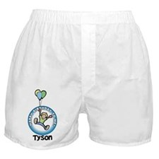 Tyson: Happy B-day to me Boxer Shorts
