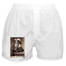 Walter Walt Whitman American Poet Ess Boxer Shorts