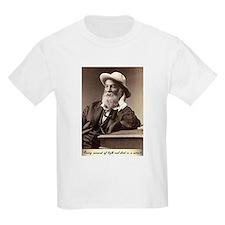 Walter Walt Whitman American Poet Essayist T-Shirt