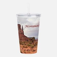 Monument Valley, Utah, Acrylic Double-wall Tumbler