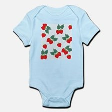 green strawberries Body Suit