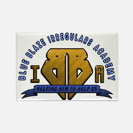 Blue Blaze Academy Rectangle Magnet