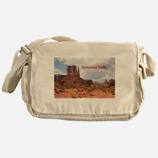 Monument Valley, Utah, USA 2 (captio Messenger Bag