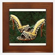 Electric Slide in Leopard Framed Tile