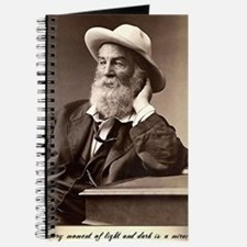 Walter Walt Whitman American Poet Essayist Journal