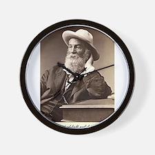 Walter Walt Whitman American Poet Essay Wall Clock