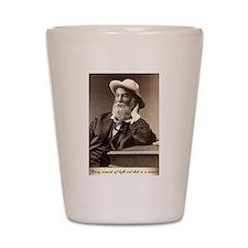 Walter Walt Whitman American Poet Essay Shot Glass