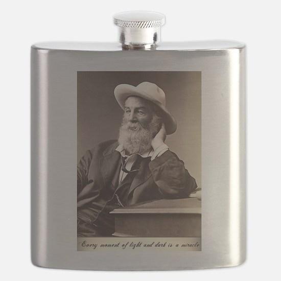 Walter Walt Whitman American Poet Essayist U Flask