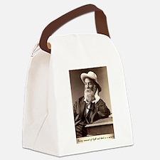 Walter Walt Whitman American Poet Canvas Lunch Bag