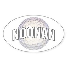 NOONAN Oval Decal