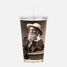 Walter Walt Whitman Am Acrylic Double-wall Tumbler