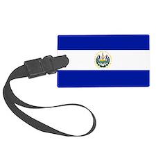 El Salvador flag Luggage Tag