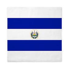 El Salvador flag Queen Duvet