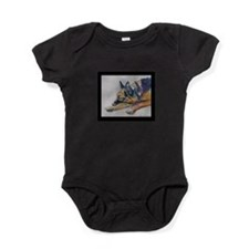 Sleeping Shepherd Baby Bodysuit