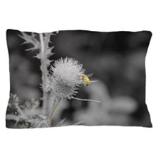Bee and Thistle Pillow Case