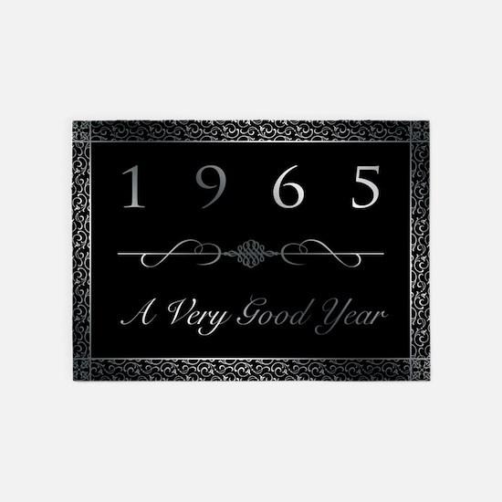 1965, A Vey Good Year 5'x7'Area Rug